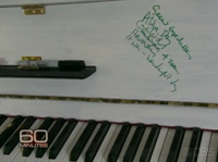 Chris Martin's Piano scribbles