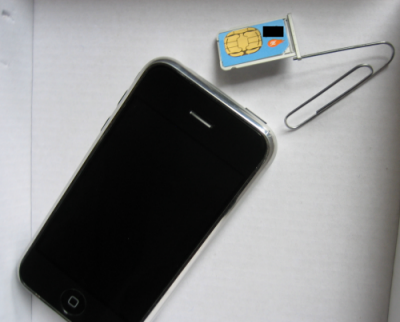 iPhone SIM removal