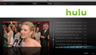 Oscars on Hulu with Plex