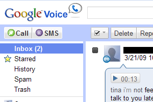 Google Voice thumb
