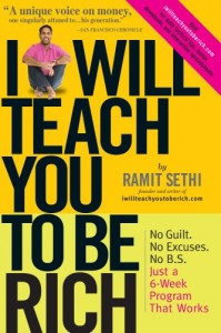 Ramit kills trees with the I Will Teach You To Be Rich book