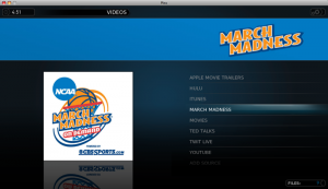 March Madness on Plex