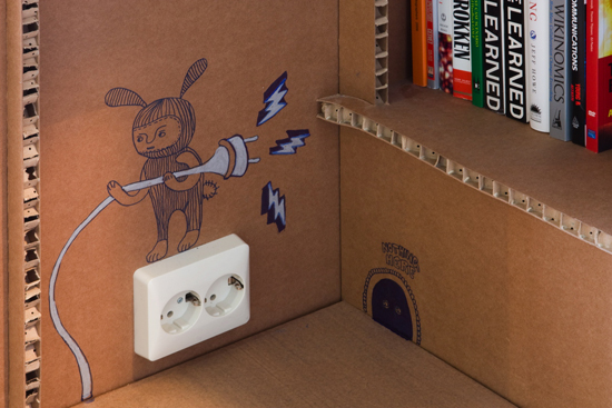 Nothing cardboard outlet