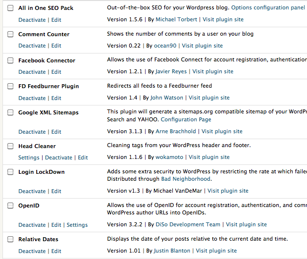 Smarterware WordPress plug-ins