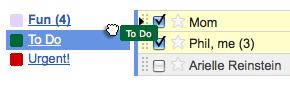 Gmail labels thumb