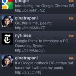 Google Chrome OS announcement