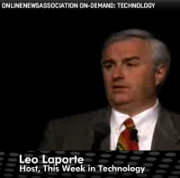 Leo Laporte at the Online News Association