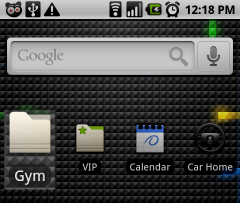 Organize Android's Home Screen Icons in Folders