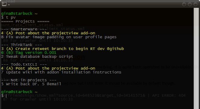 Projectview Lists Your Todo.txt by Project | Smarterware