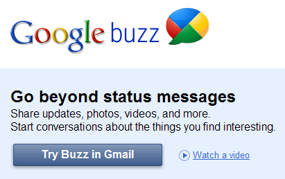 Google Buzz: Gmail's New Social Network Activity Aggregator