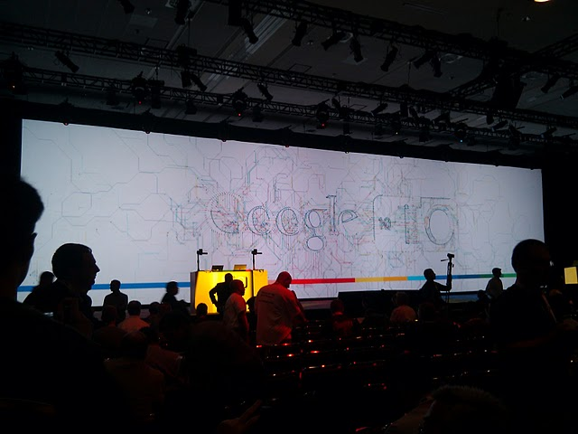 Live from Google I/O: Waving Thursday's Keynote